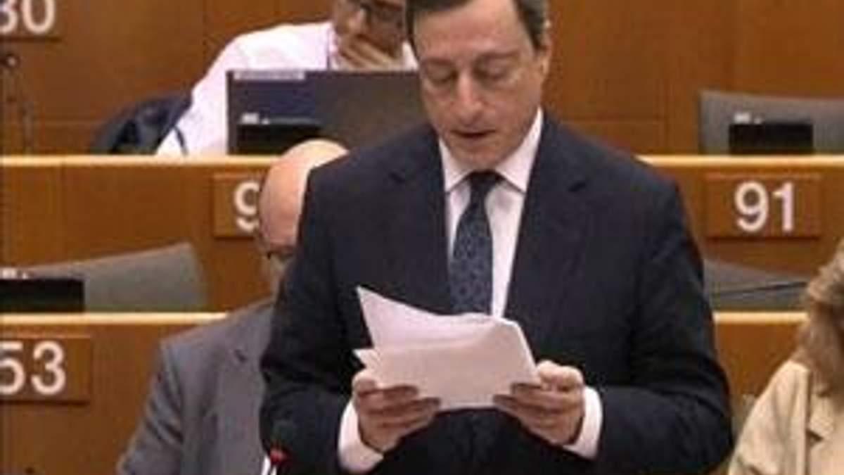 Драгі побачив стабілізацію економіки в єврозоні