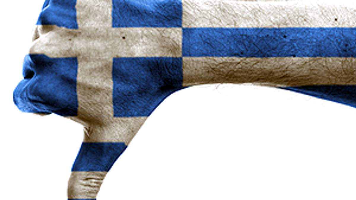 """S & P собирается понизить рейтинг Греции до """"выборочного дефолта"""""""
