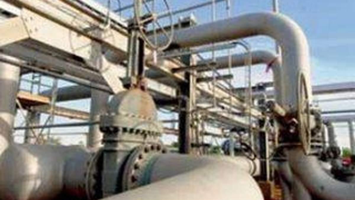Україна істотно скоротила транзит газу в січні 2012 року