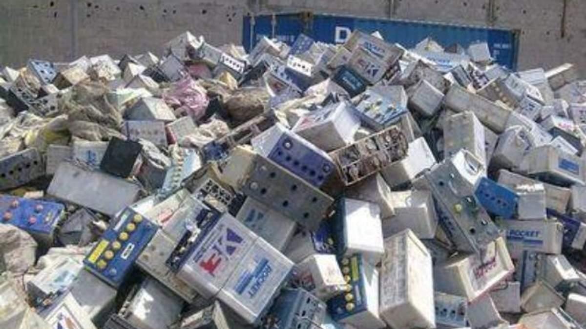 На Днепропетровщине построят уникальный завод по переработке аккумуляторов