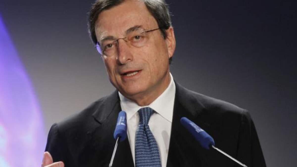 Драгі: Ситуація в єврозоні стабілізується