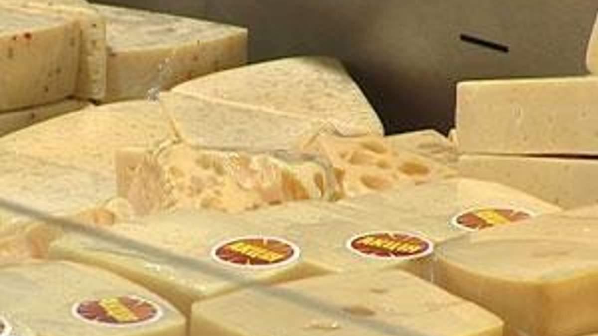 Росія не дозволила ввезти 128 тонн українського сиру