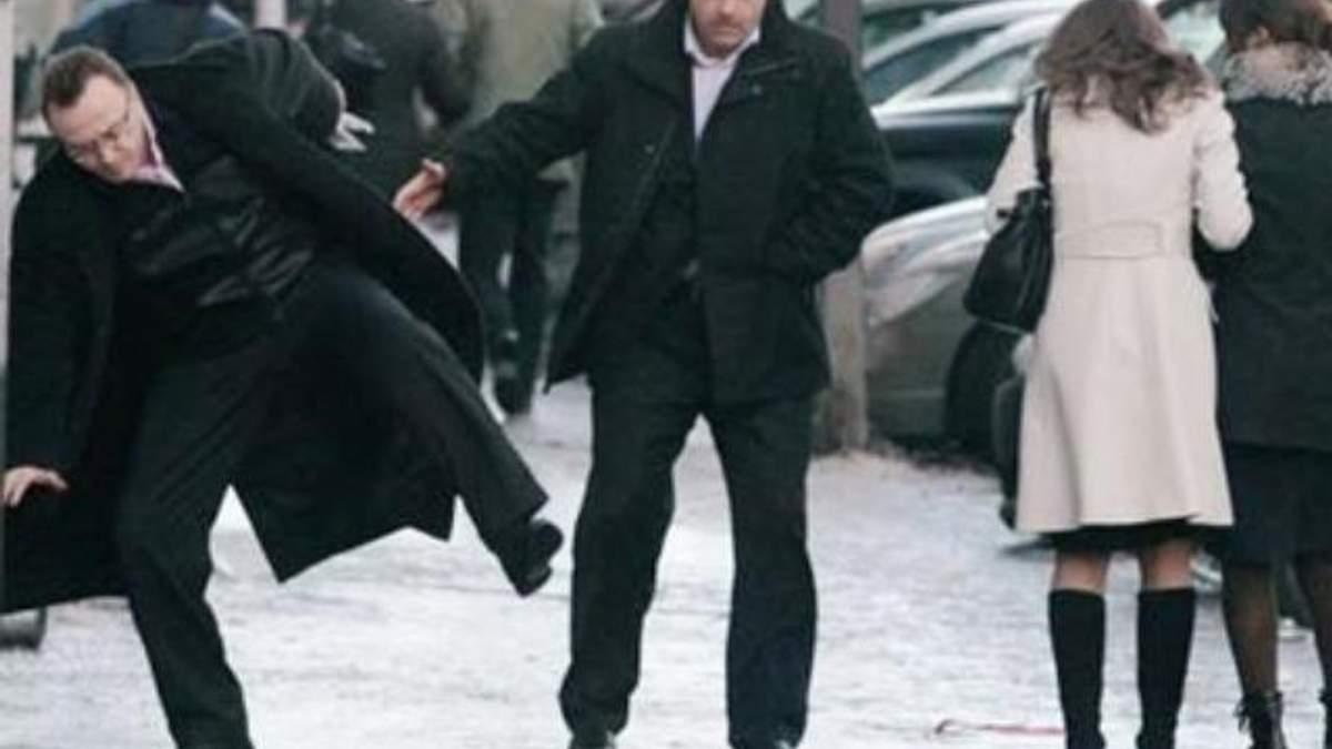 Юристы предлагают судиться за травмы, полученные из-за неубранного снега