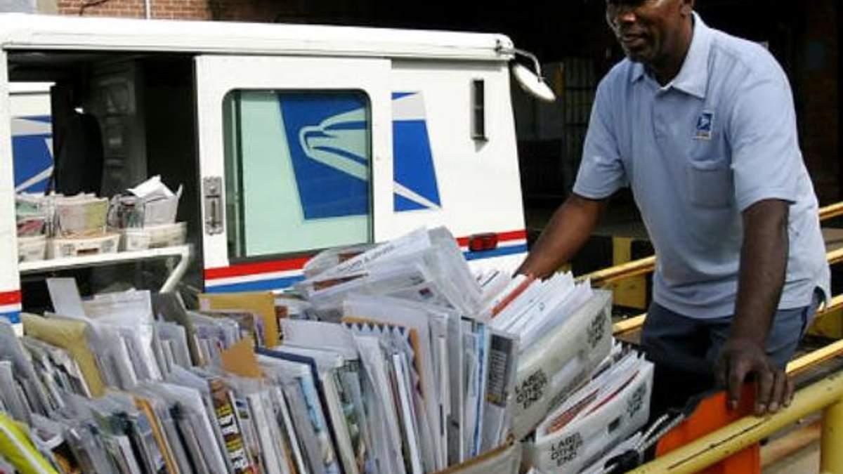 150 тысяч американских почтальонов рискуют остаться без работы