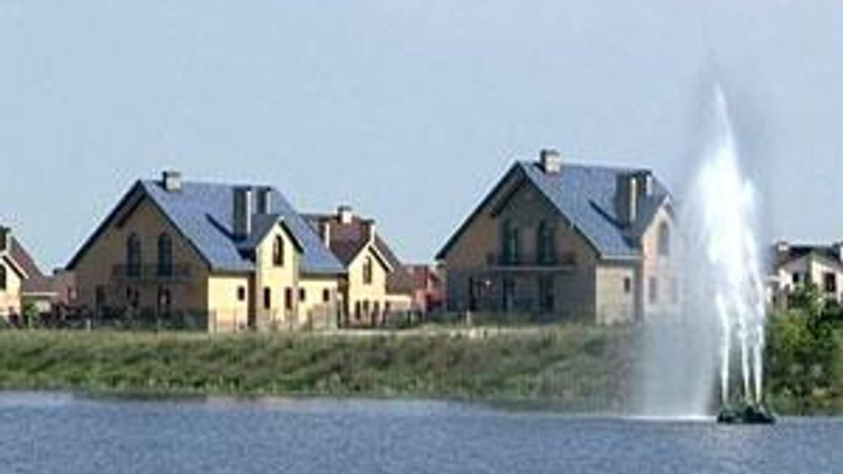 Украинцы отдают предпочтение небольшим домам