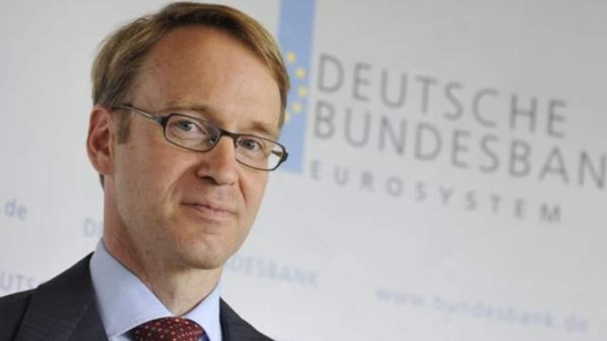 """Бундесбанку не подобаються """"щедрі"""" кредити ЄЦБ"""