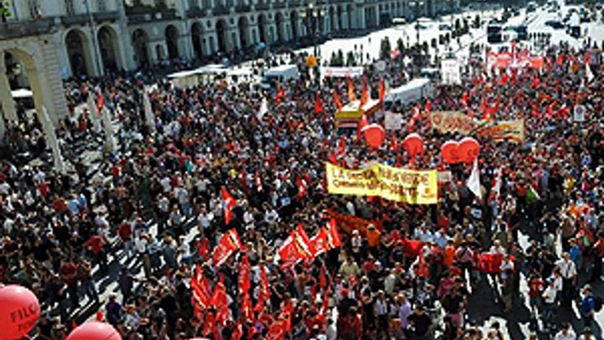 В Італії ще один страйк — тепер машинобудівники
