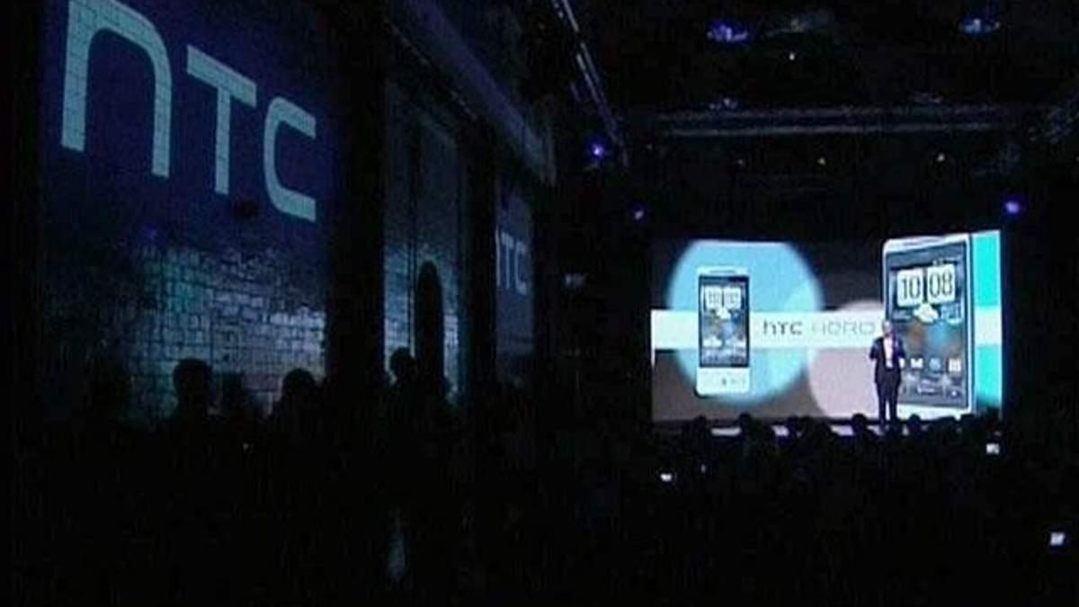 Компанія HTC фіксує рекордне падіння прибутку