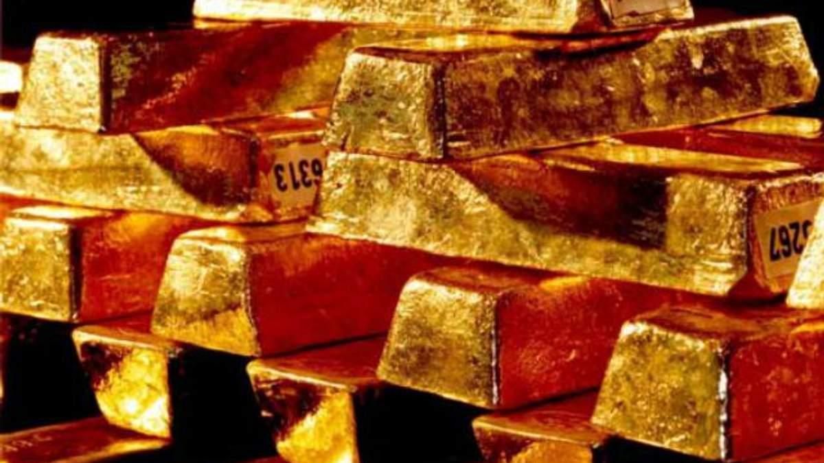 У резерві НБУ знаходиться майже 35 тонн золота