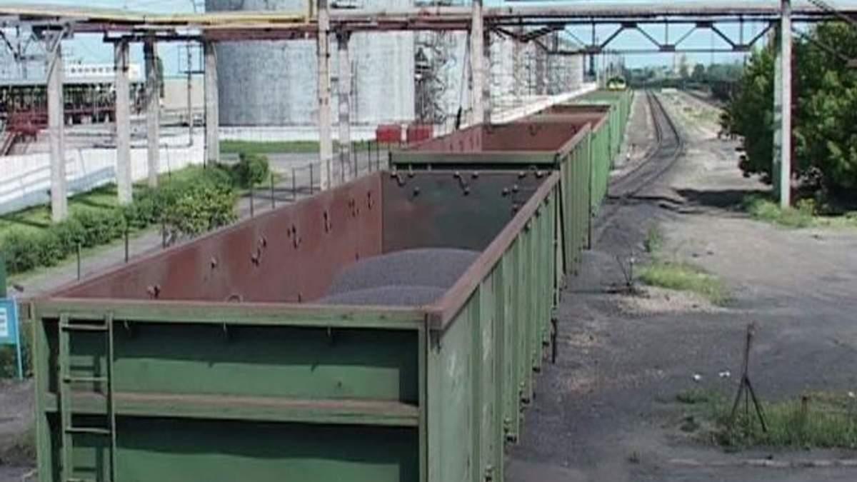 Украина сократила экспорт каменного угля на 21%