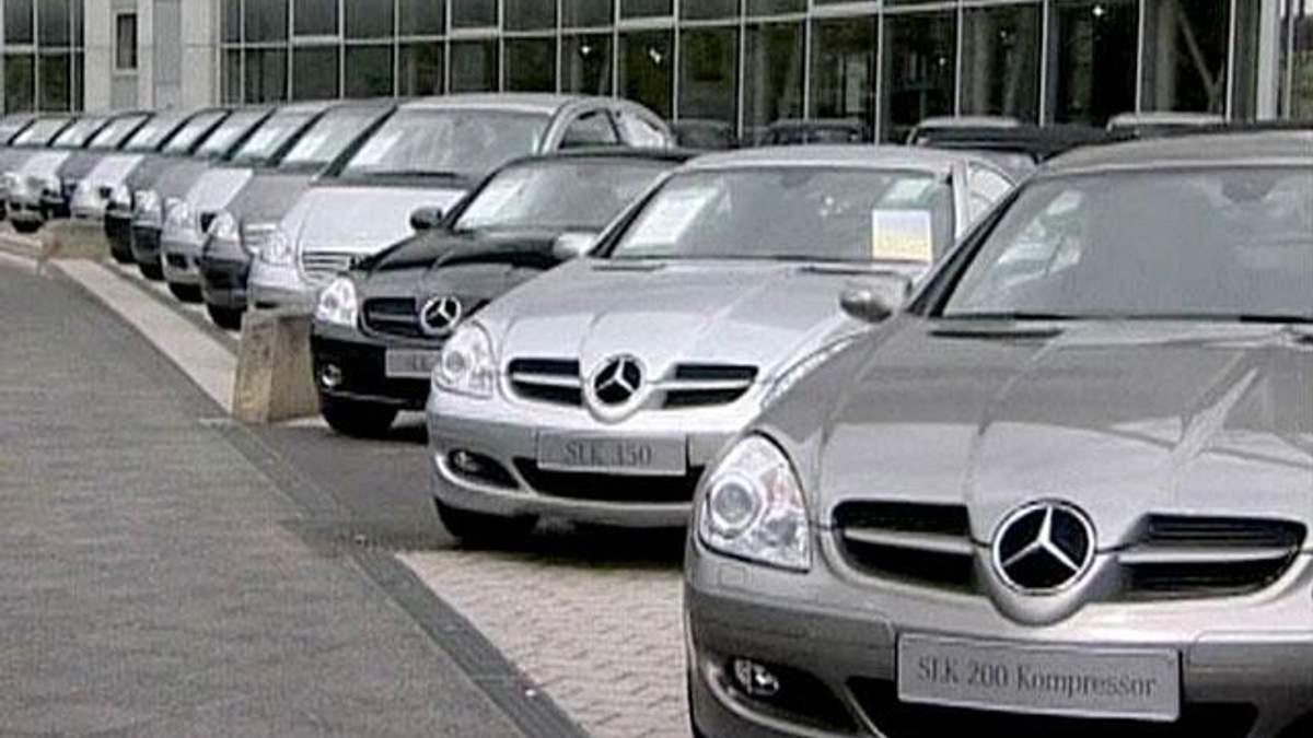 Продажі автомобілів у ЄС у вересні скоротилися на 10,8%