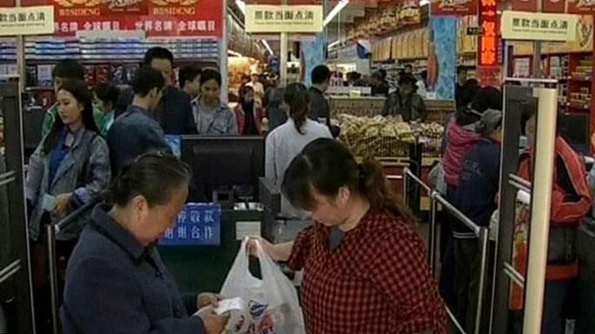 Ріст ВВП Китаю знизився на 0,2%