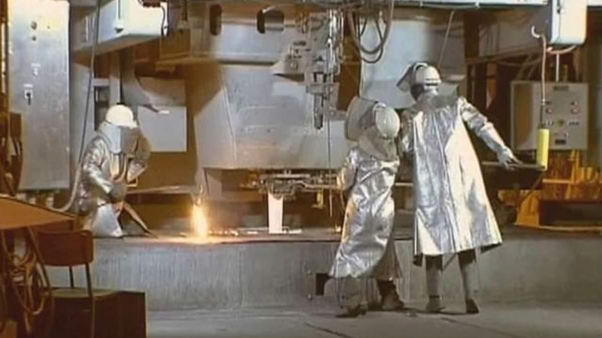 Україна скоротила випуск сталі на 5,4%