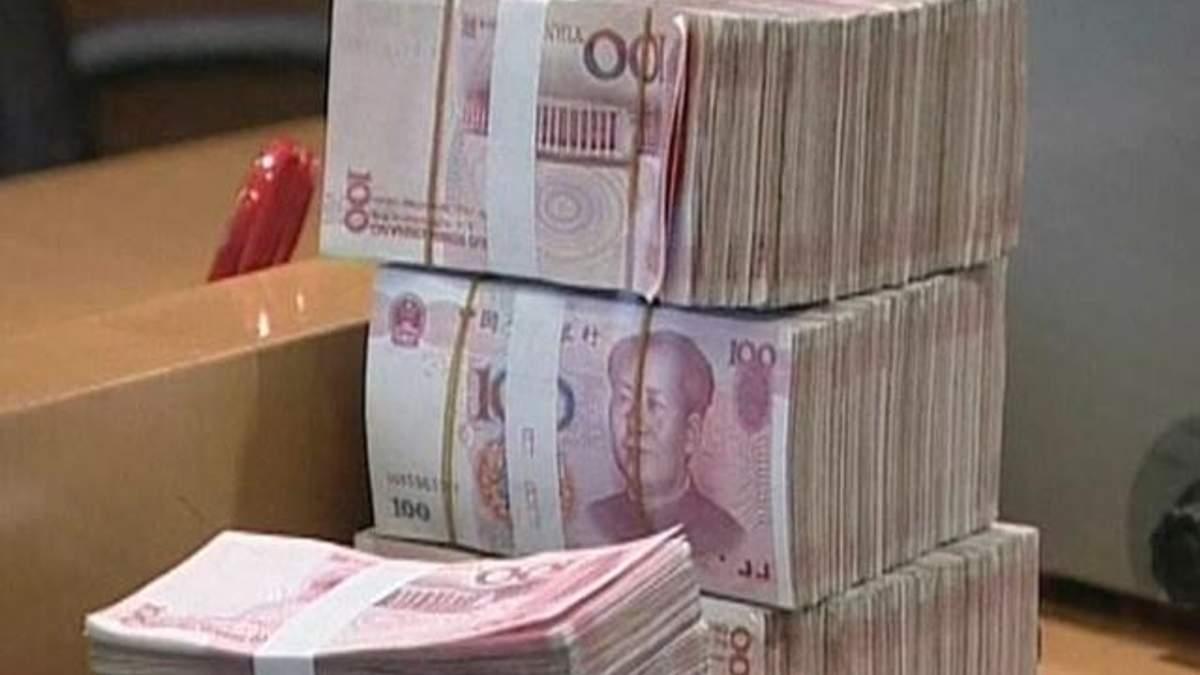 За 12 років з КНР вивели $3,8 трильйонів