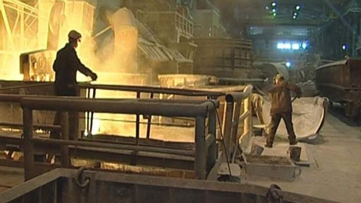 Україна залишається на 10 місці у світі з виробництва сталі