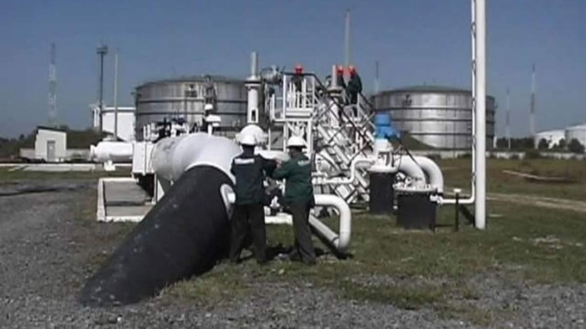 Украина продолжает снижать объемы транзита нефти