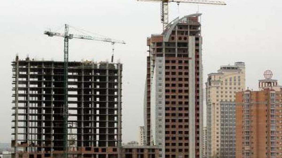За 2012 рік будівництво в Україні скоротилось майже на 14%
