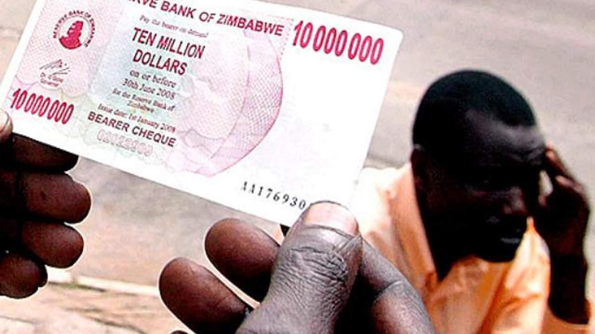 Держбюджет Зімбабве становить майже 200 доларів
