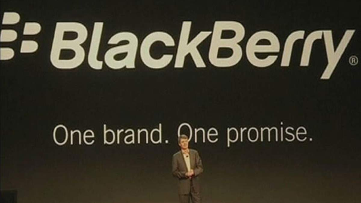 Компанія Research In Motion змінила назву на BlackBerry