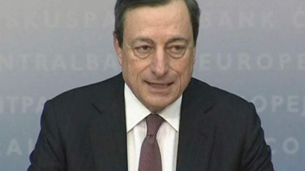 Драгі: Економічна активність у Єврозоні відновиться до кінця року