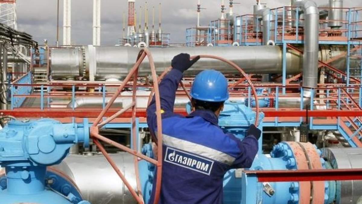 """""""Газпром"""" виплатив аванс за транзит газу Україною до 2015 року"""