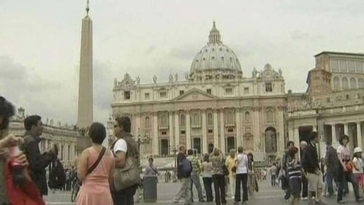 У рамках перевірки Банку Ватикану заарештовано трьох осіб