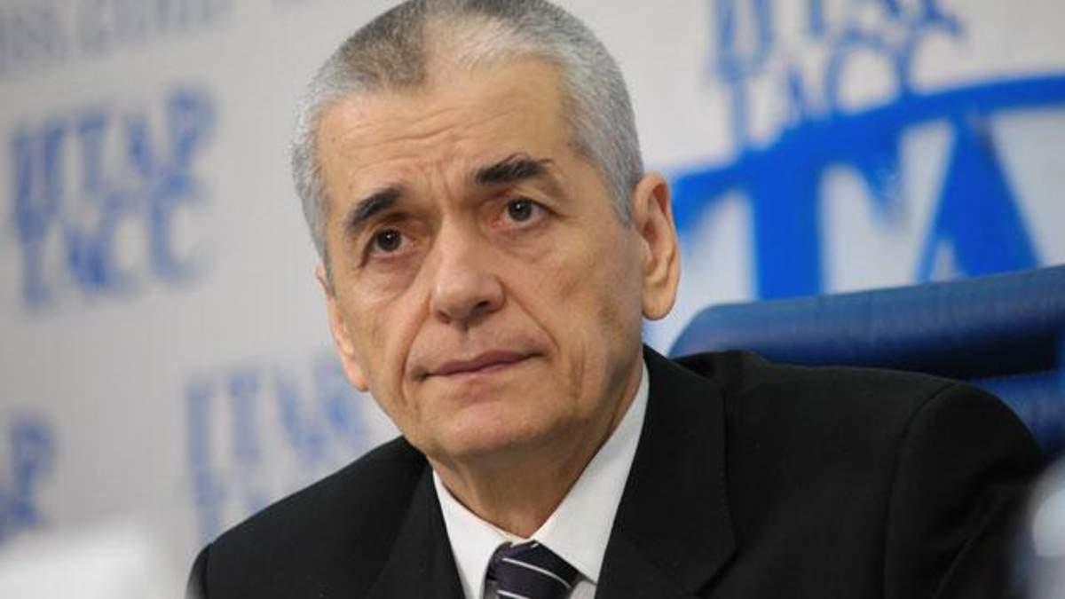 Онищенко говорит, что претензии к Roshen только растут
