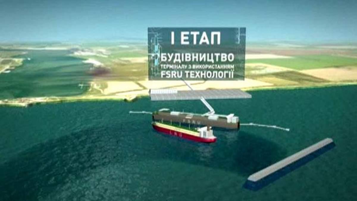 Україна хоче домовитись із Азербайджаном про LNG-термінал