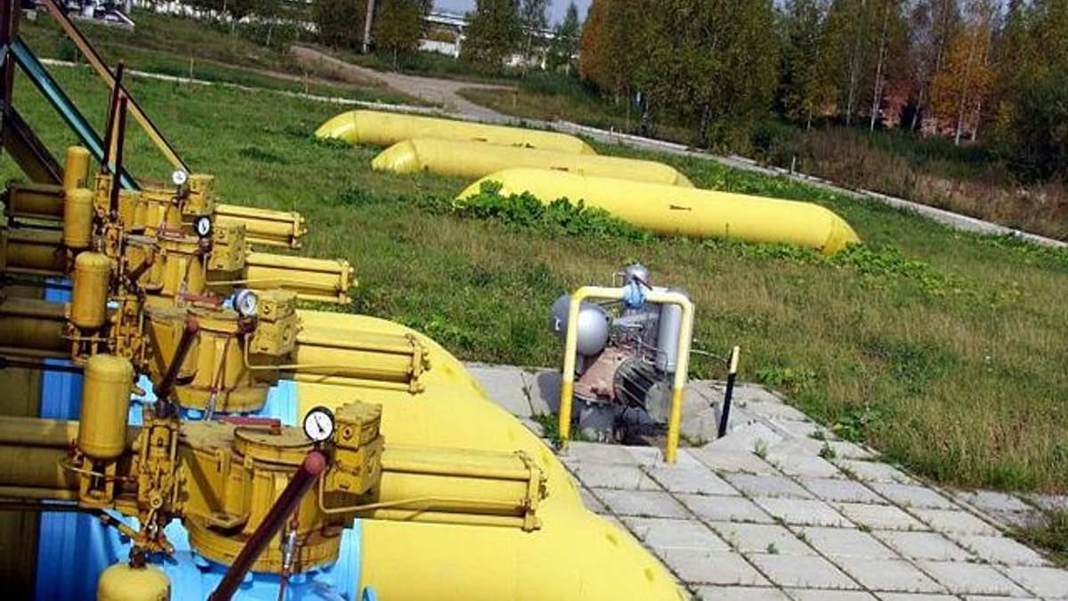 Україна та ЄС спільно контролюватимуть запаси газу у підземних сховищах