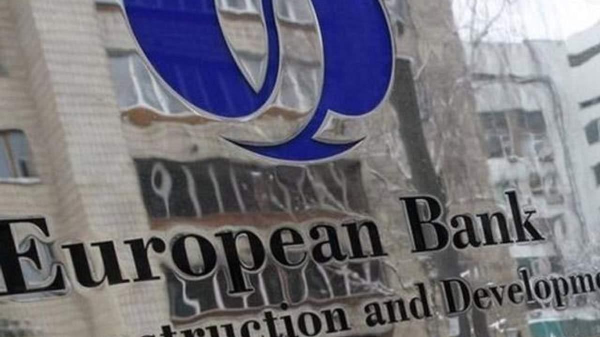 ЄБРР щороку інвестуватиме в економіку України 1 млрд. євро