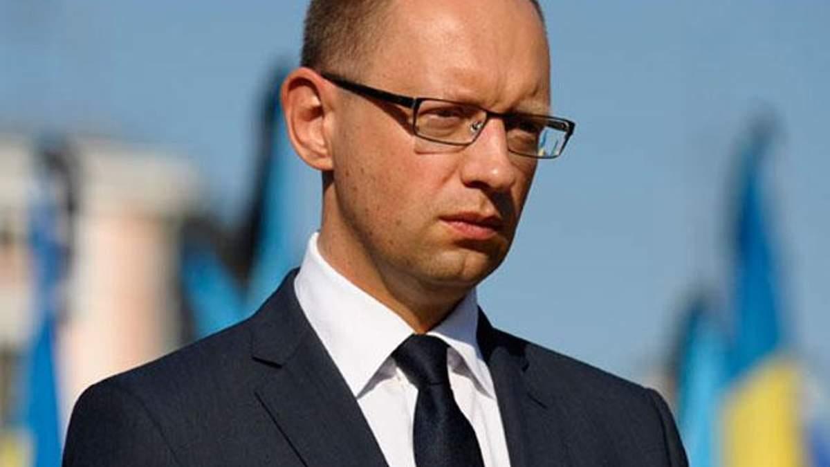 Яценюк виступив з пропозицією щодо врегулювання газового конфлікту
