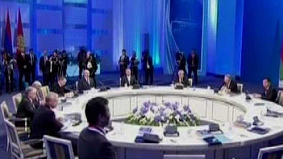 Путин, Лукашенко и Назарбаев создали Евразийское экономическое сообщество