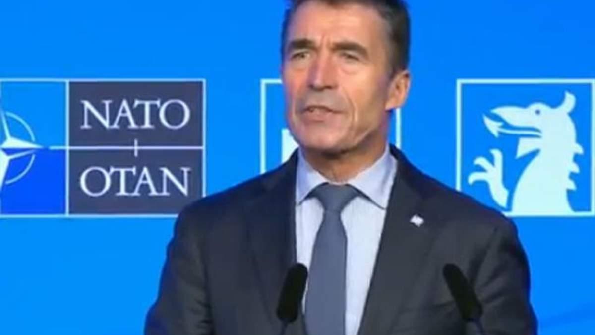 Країни НАТО нададуть Україні додатково 15 млн євро, — Расмуссен