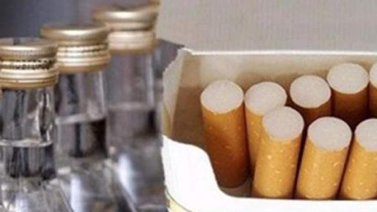 штрафы по алкоголю и табачными изделиями