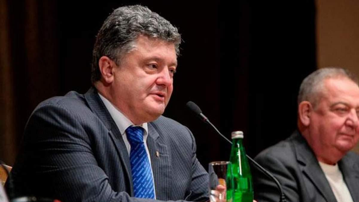 Порошенко обіцяє створити  експертну агенцію зі страхування ризиків експортерів