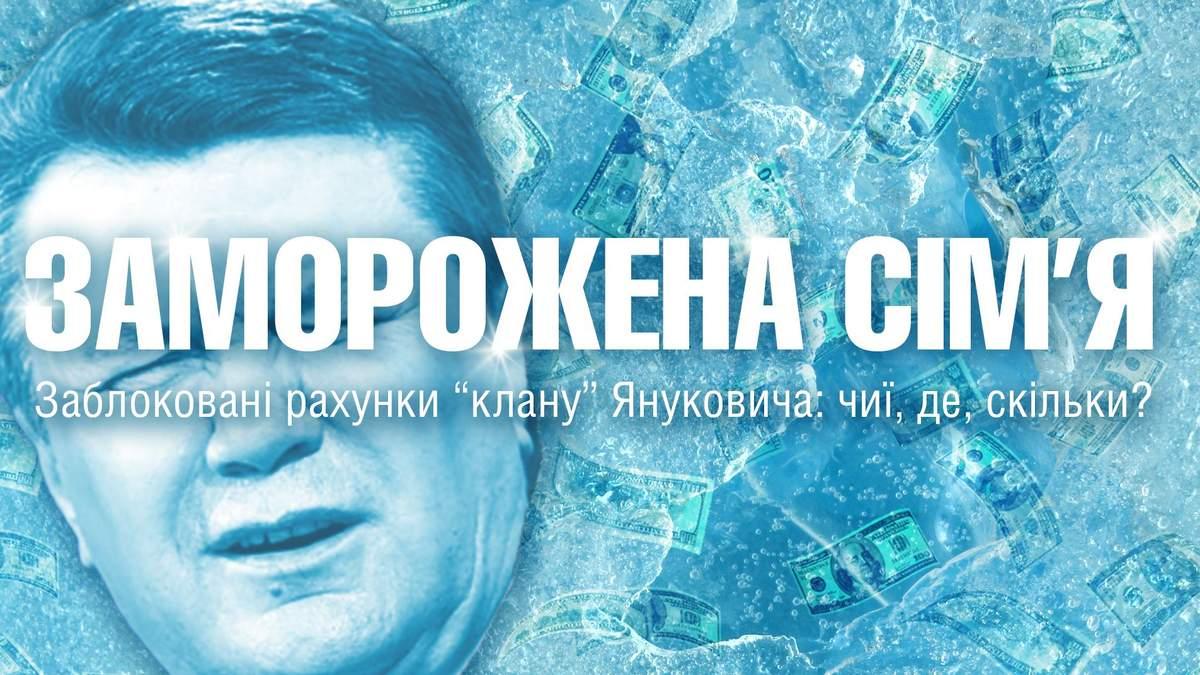"""Где Янукович и Ко """"потеряли"""" свои деньги (Инфографика)"""