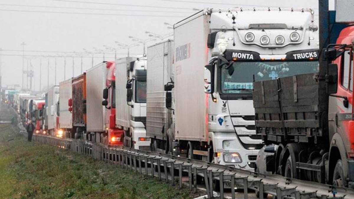 Турция закрыла границы для российских грузовиков
