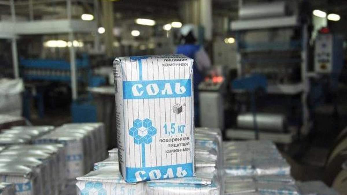 В Украине подешевеет пищевая соль