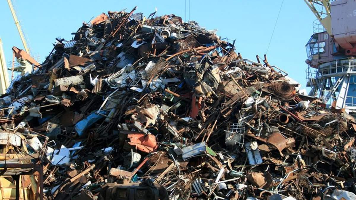 Из Украины продолжают нелегально вывозить металлолом