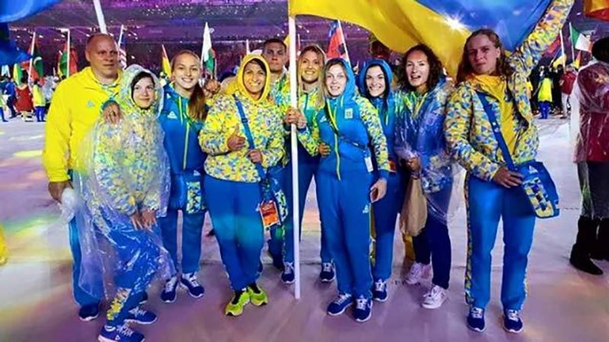Українські олімпійці