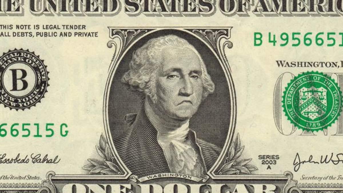 Наличные курсы валют 23 января: доллар в отличие от евро дешевеет