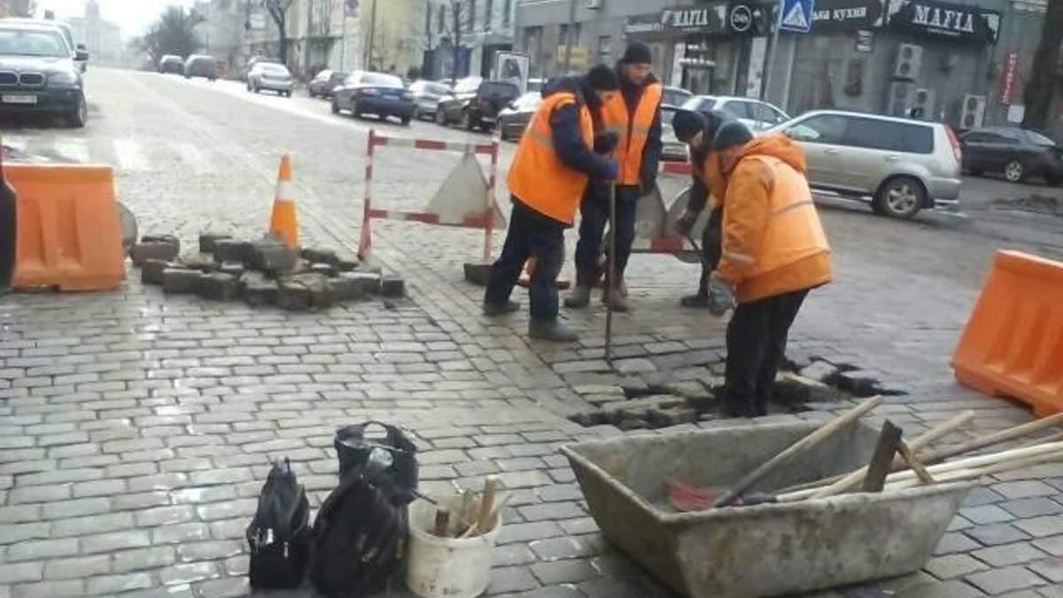 Дороги в Києві
