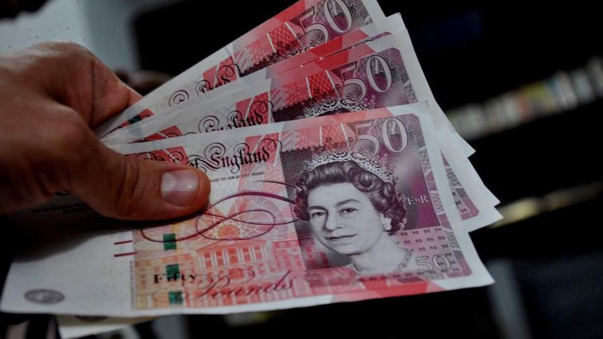 Британський фунт різко обвалився в ціні після виборів у країні