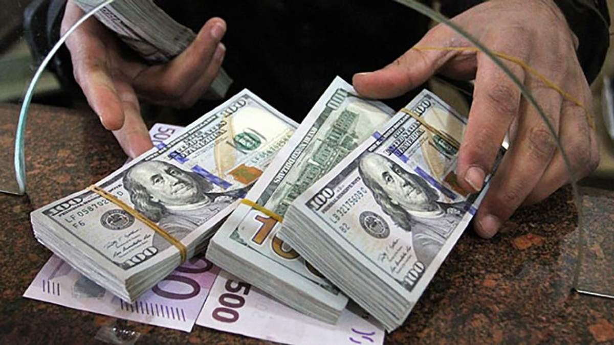 Готівковий курс валют 03-07-2017: курс долара, курс євро