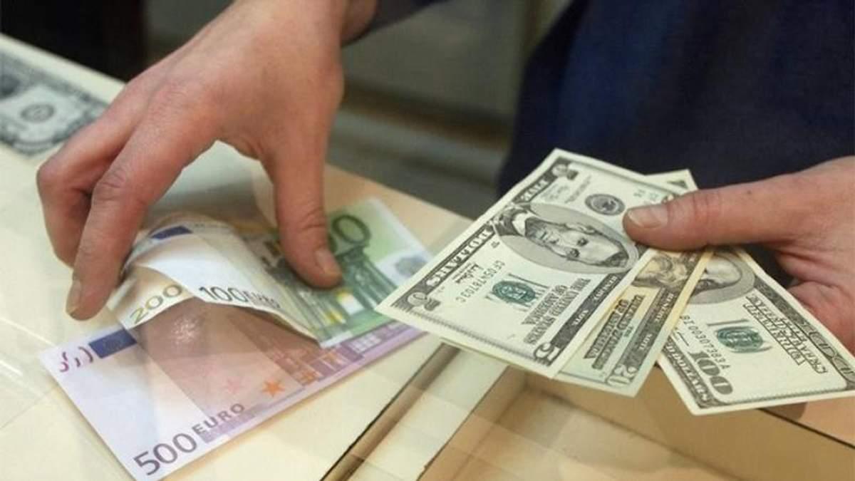 Готівковий курс валют 06-07-2017: курс долара, курс євро
