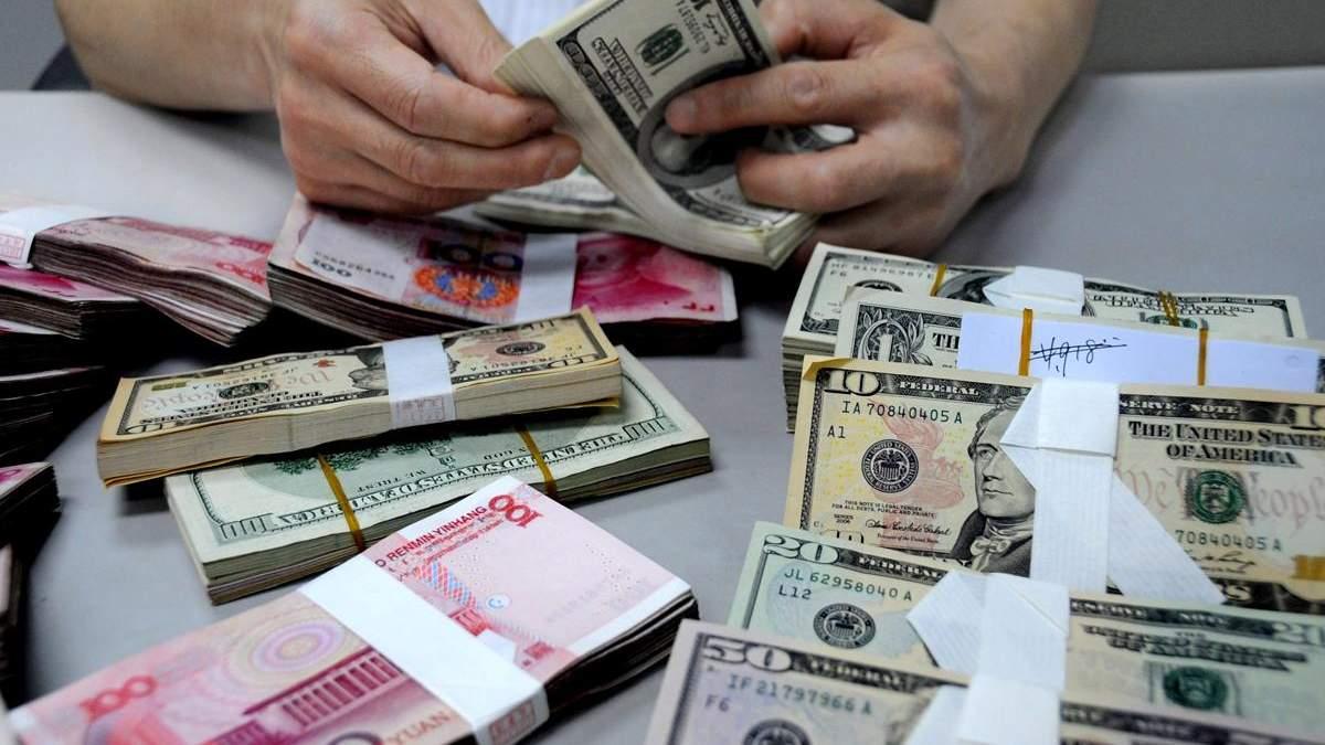 Готівковий курс валют 07-07-2017: курс долара, курс євро