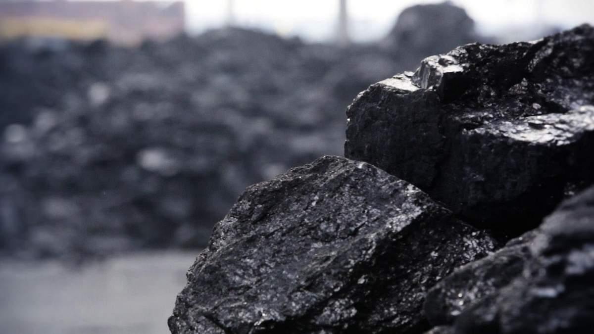 Запаси вугілля в Україні вдвічі перевищують минулорічні, – Кістіон