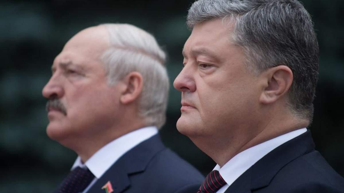 Порошенко та Лукашенко обговорять співпрацю між країнами