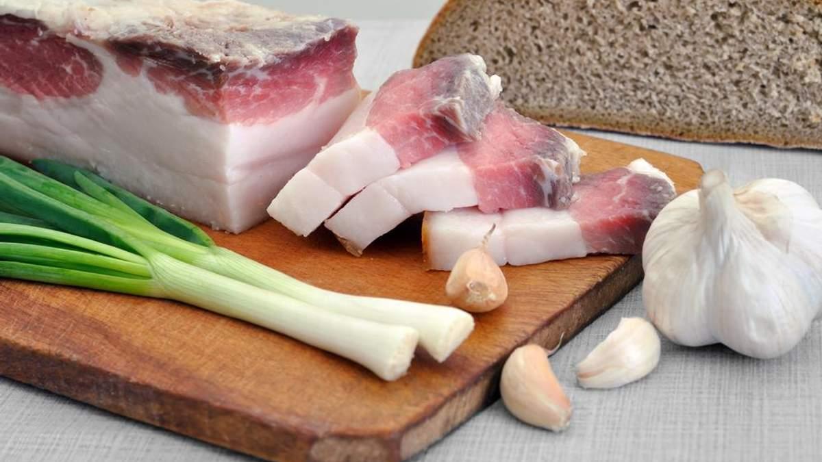 Украинцы перестали кормить россиян салом
