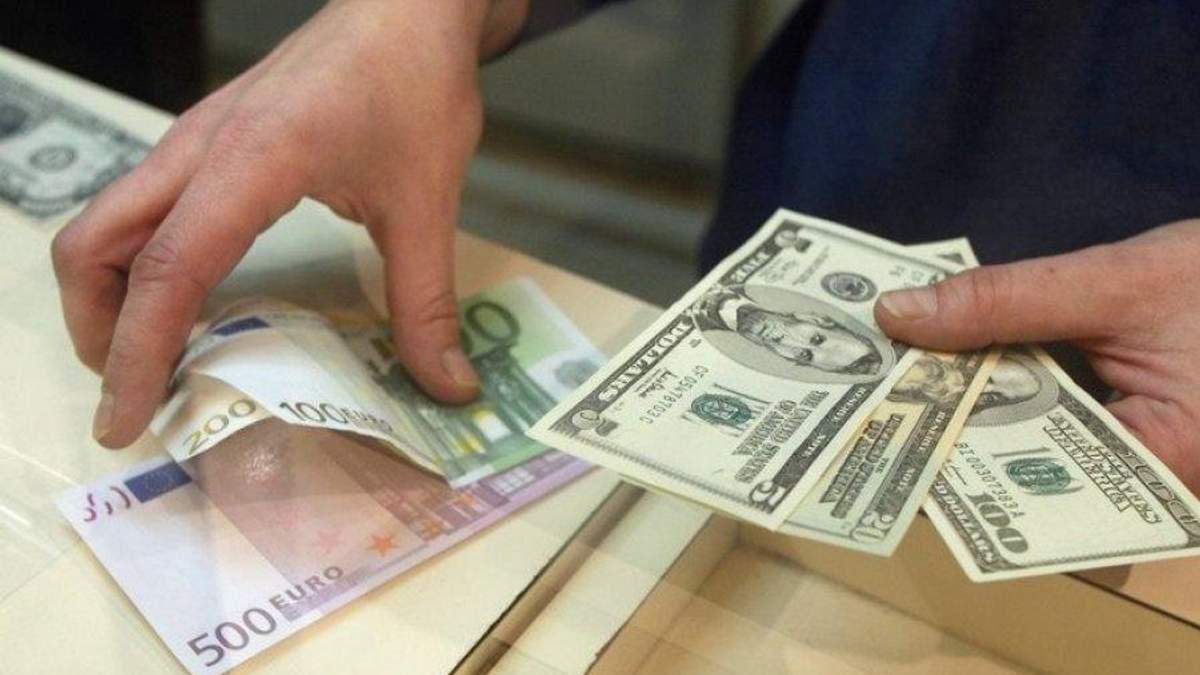 Готівковий курс валют на 26-09-2017: курс долара и євро